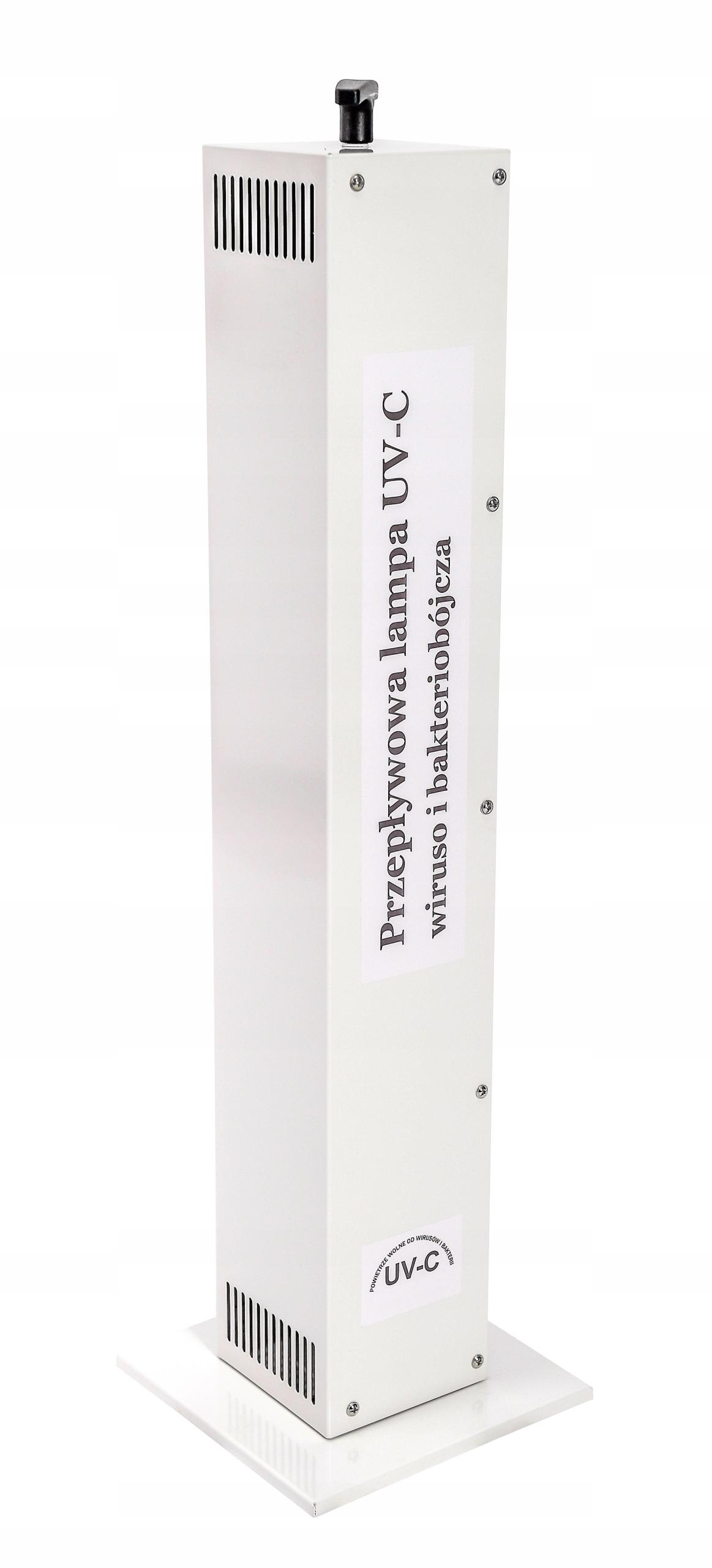 Lampa UV-C   Dezynfekcja powietrza w gabinecie