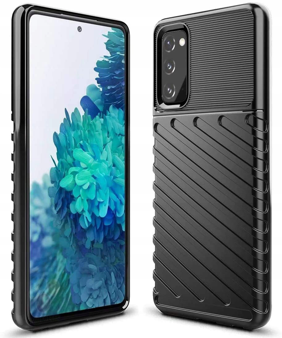 Etui do Samsung Galaxy S20 FE Pancerne Case +Szkło