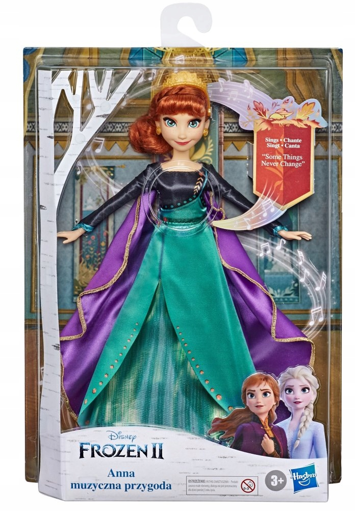 FROZEN 2 The Royal Doll ANNA Singing IN Polish