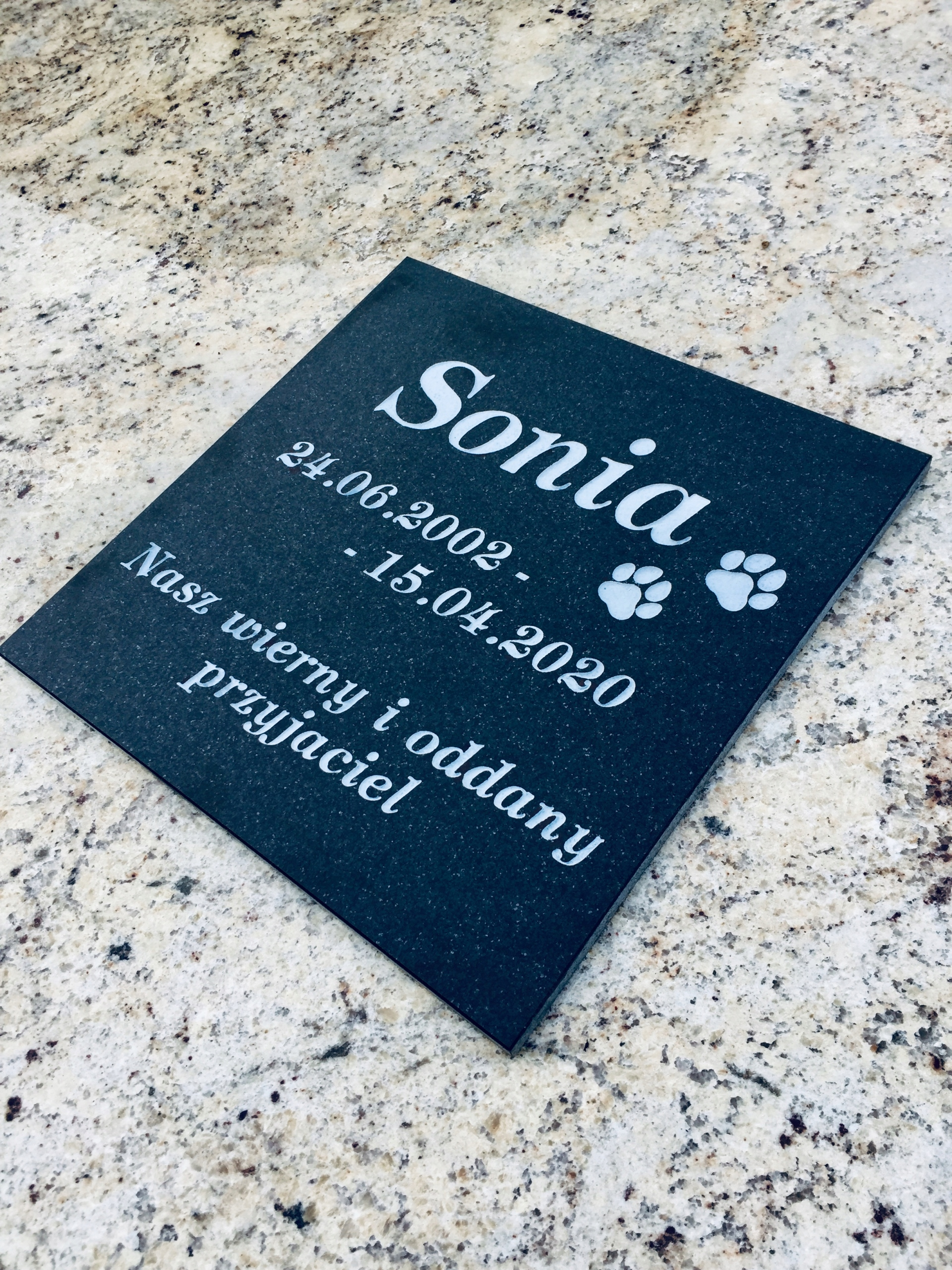 собака кошка надгробие - доска для домашних животных