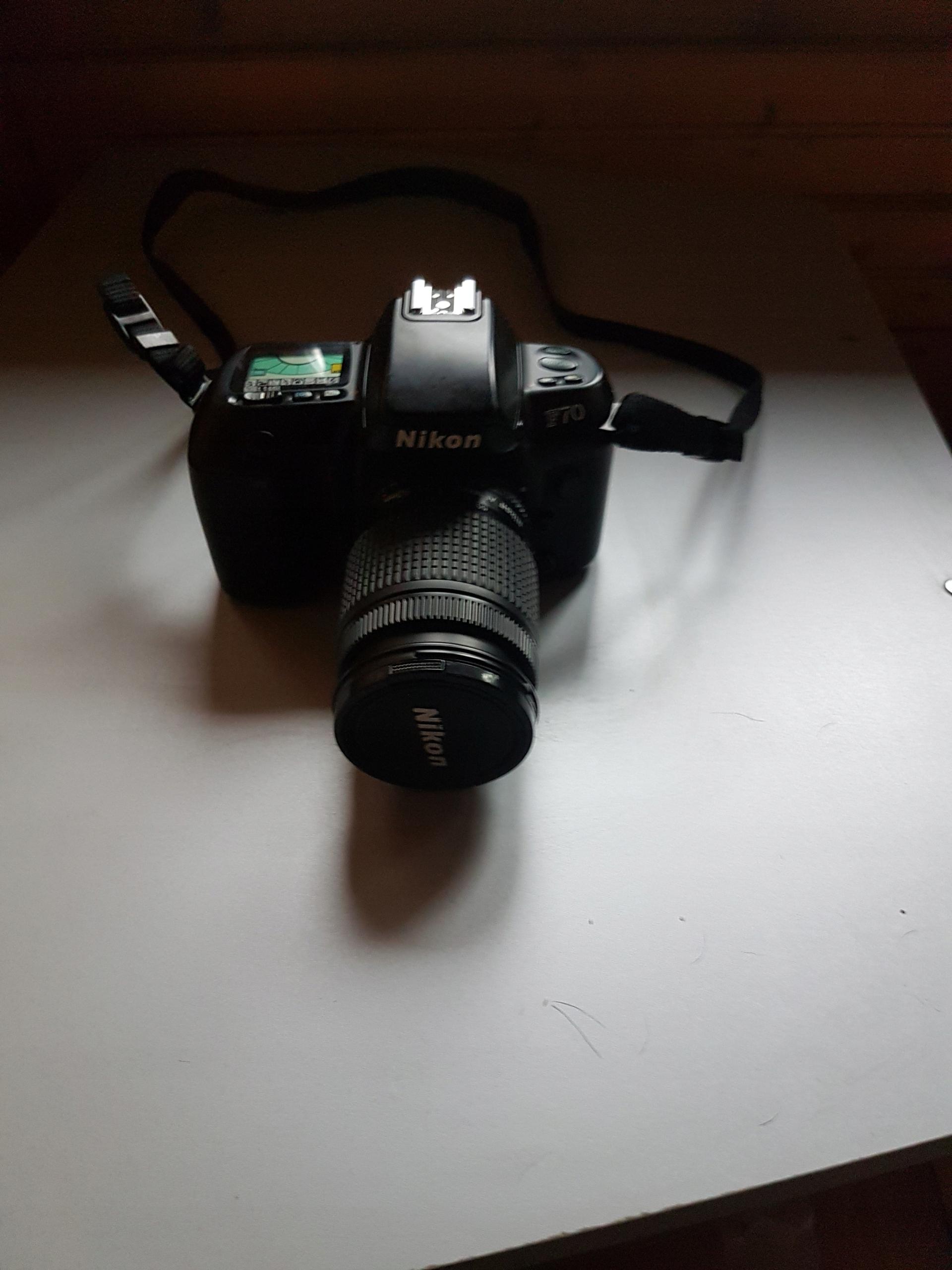 Купить Фотоаппарат Nikon F 70 на Otpravka - цены и фото - доставка из Польши и стран Европы в Украину.