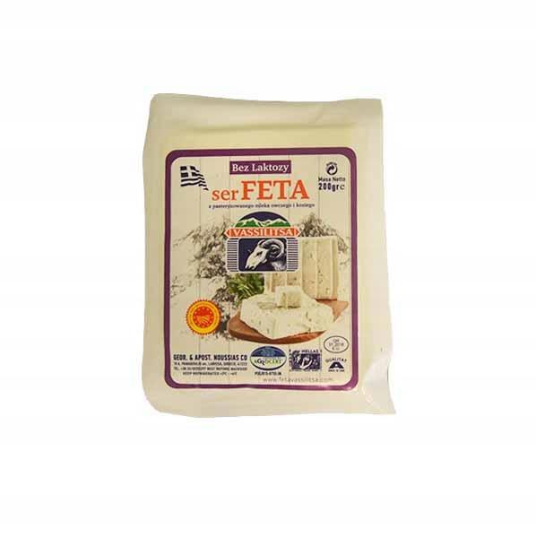 Оригинальный греческий сыр фета БЕЗ ЛАКОЗЫ 200 г P.D.O.