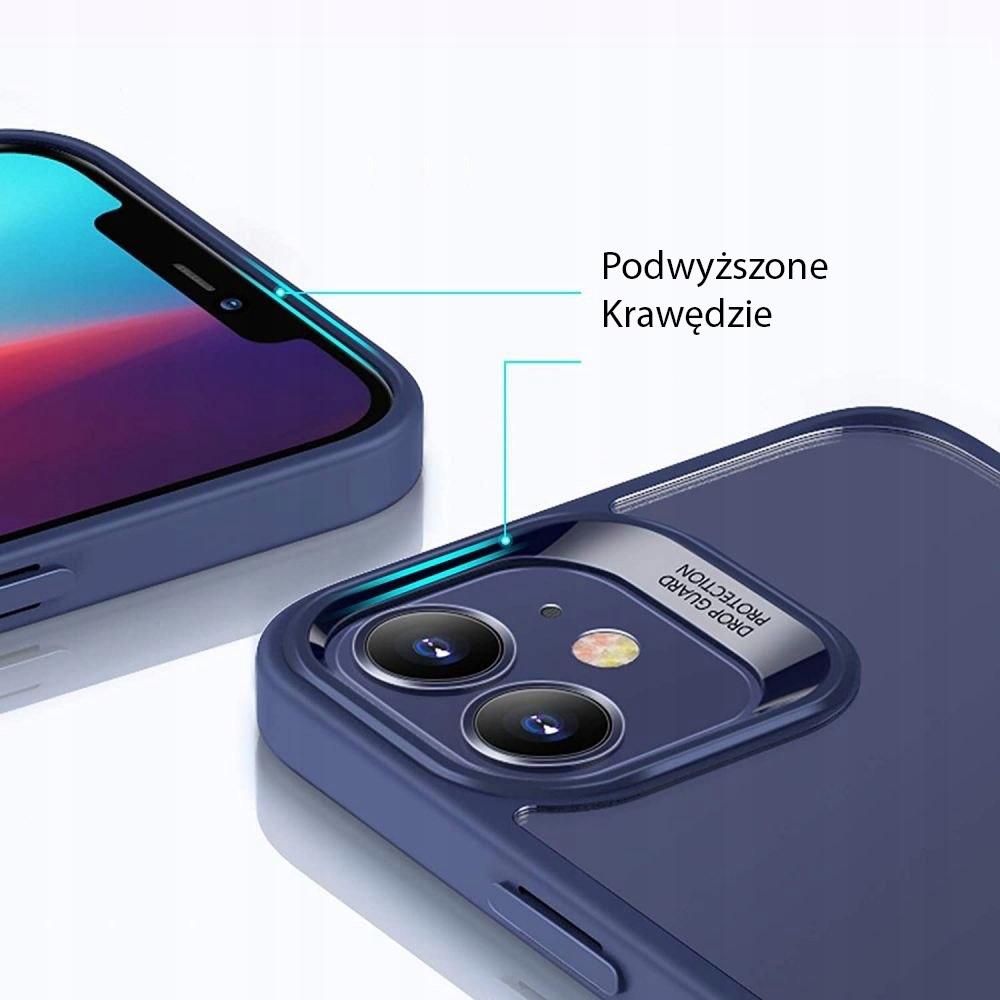 Etui ESR Blue + Szkło Płaskie do iPhone 12 Mini Typ plecki