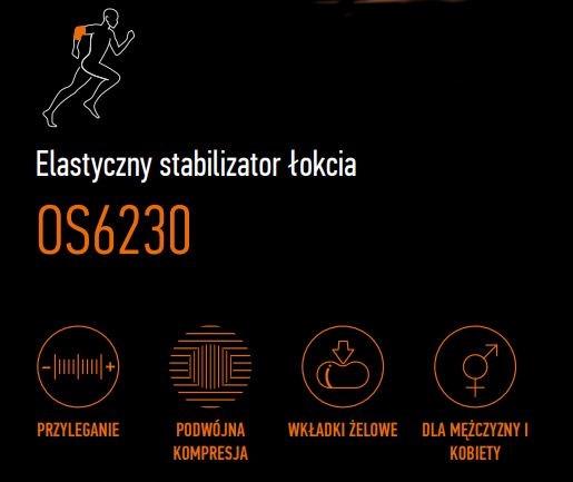 STABILIZATOR SPORTOWA OPASKA ŁOKCIA ORLIMAN SPORT Strona uniwersalne