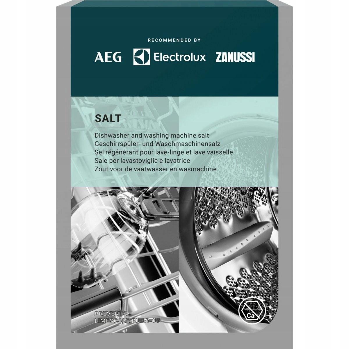 Соль для посудомоечной и стиральной машине - 1 кг. Electrolux