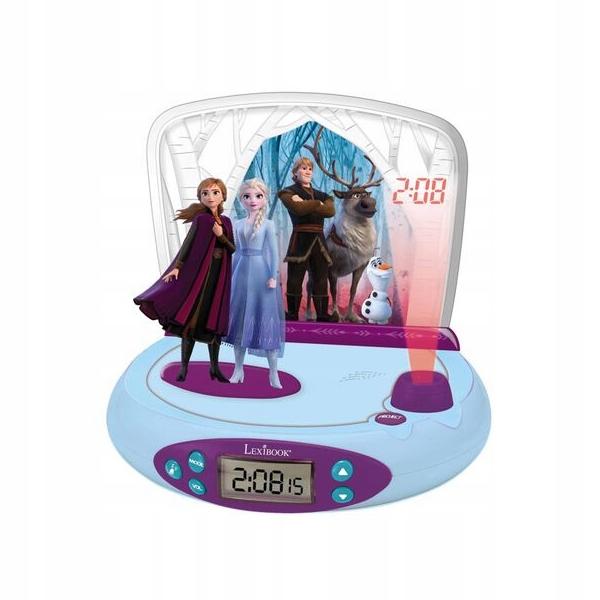 Budík Projektor Budík FROZEN Frozen