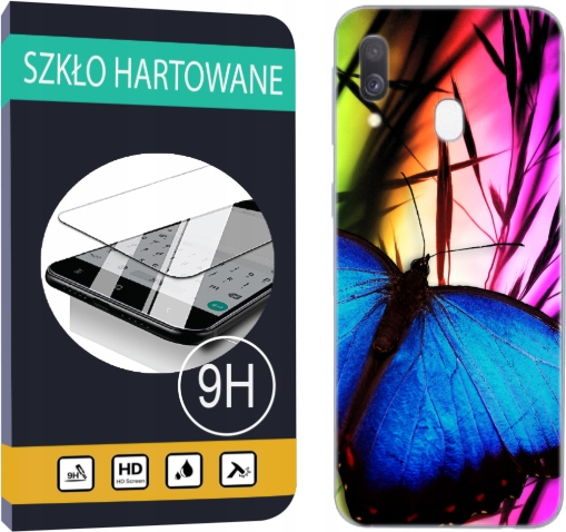 150 wzorów Etui+szkło Samsung Galaxy A40 Pokrowiec