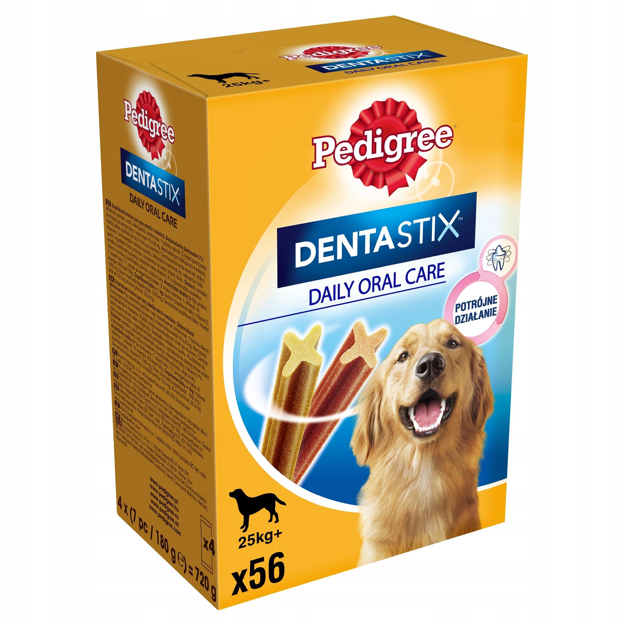 PEDIGREE DENTASTIX MAXI DOG Treat 56 ШТ.
