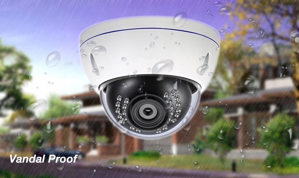 Kamera 8MP 4K IP zewnętrzna kamera H.265 Onvif Poe Kod producenta xxx