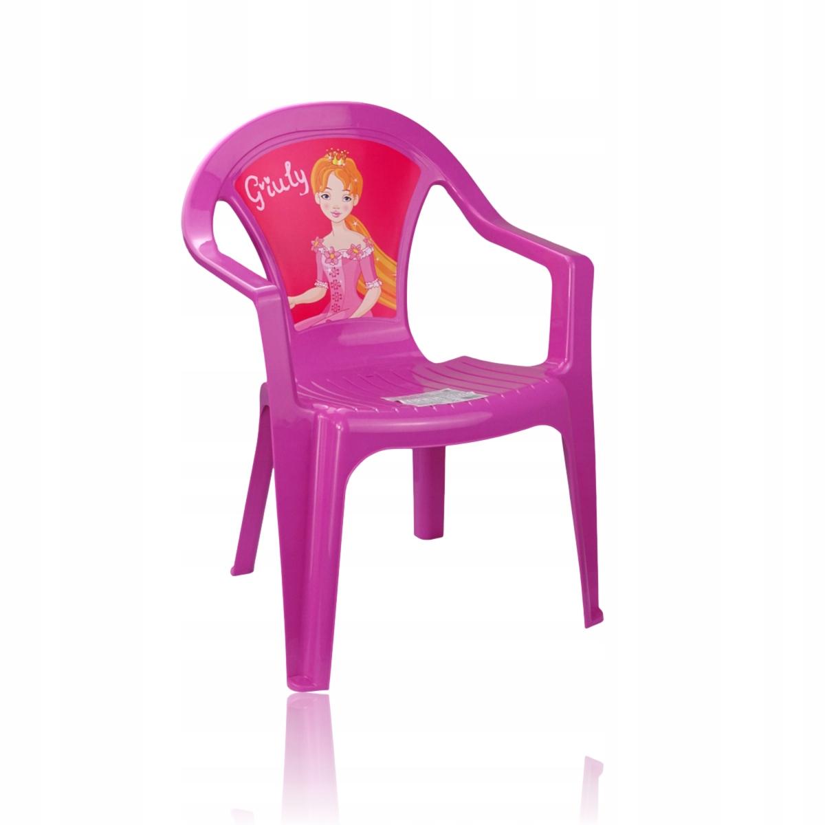 krzesełko dla dzieci z motywem Różowe do 30 kg