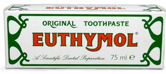 Euthymol Антибактериальной Зубная Паста Без Фтора