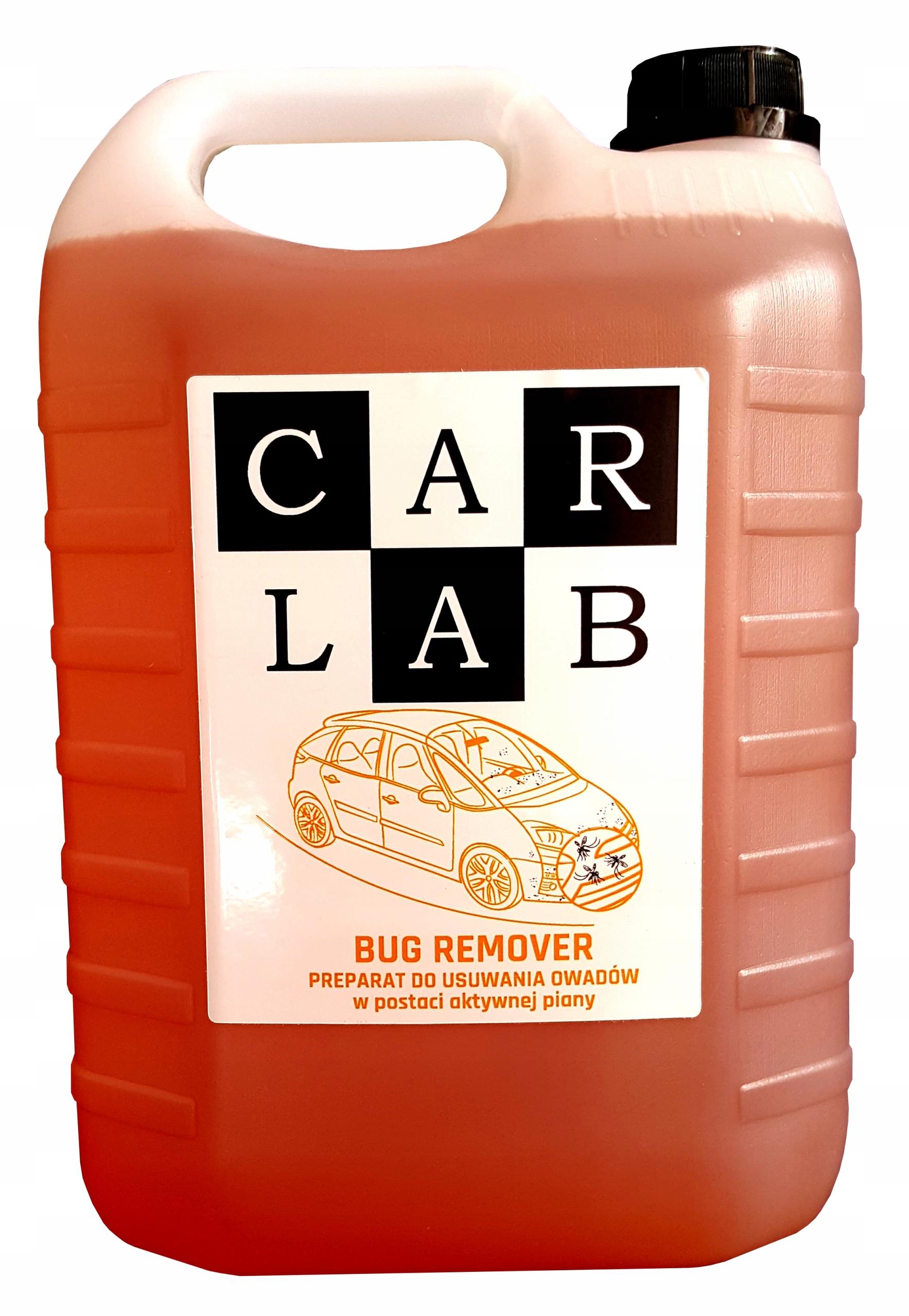 CARLAB BUG REMOVER 5L preparat do usuwania owadów