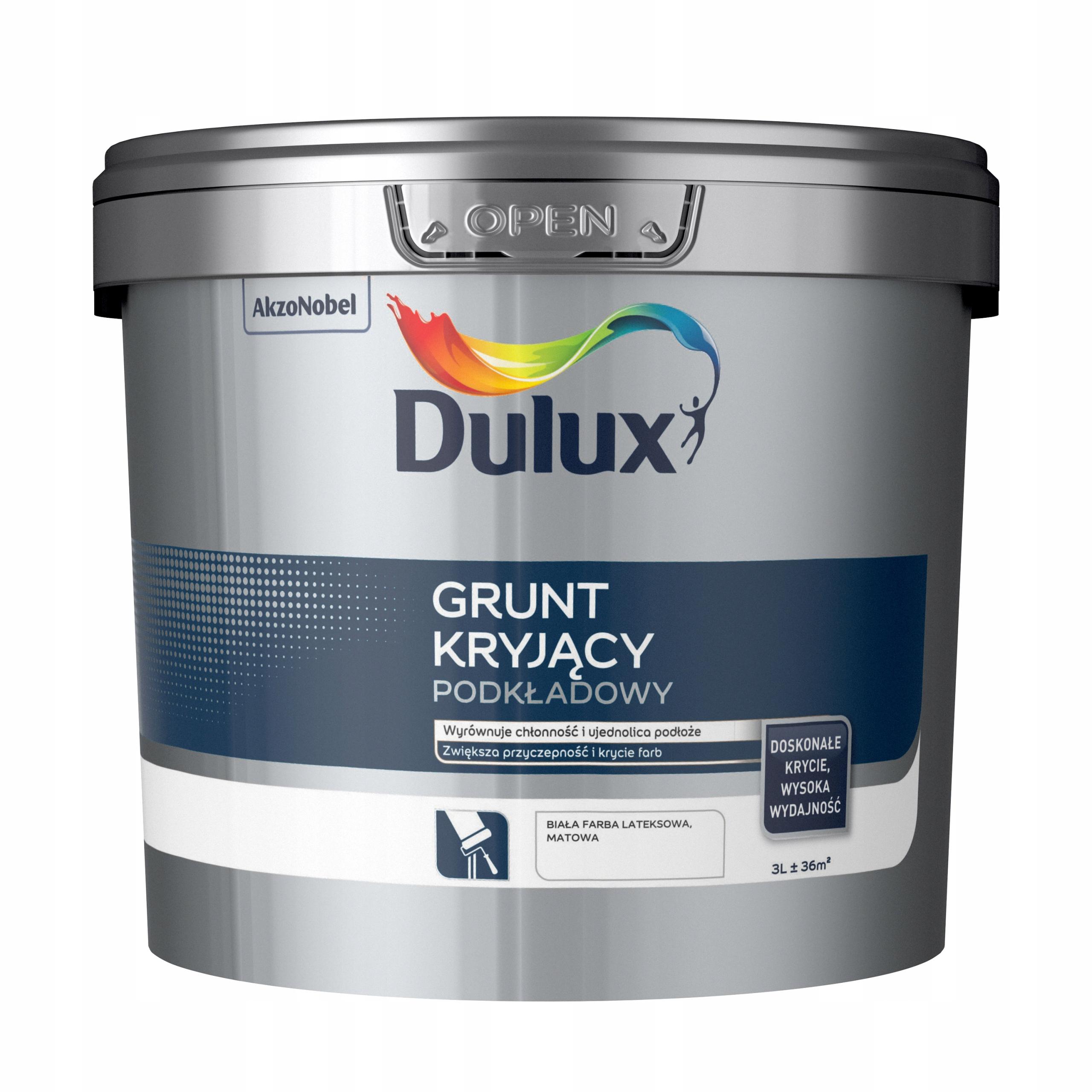 Dulux Grunt Kryjący Podkładowy 3L