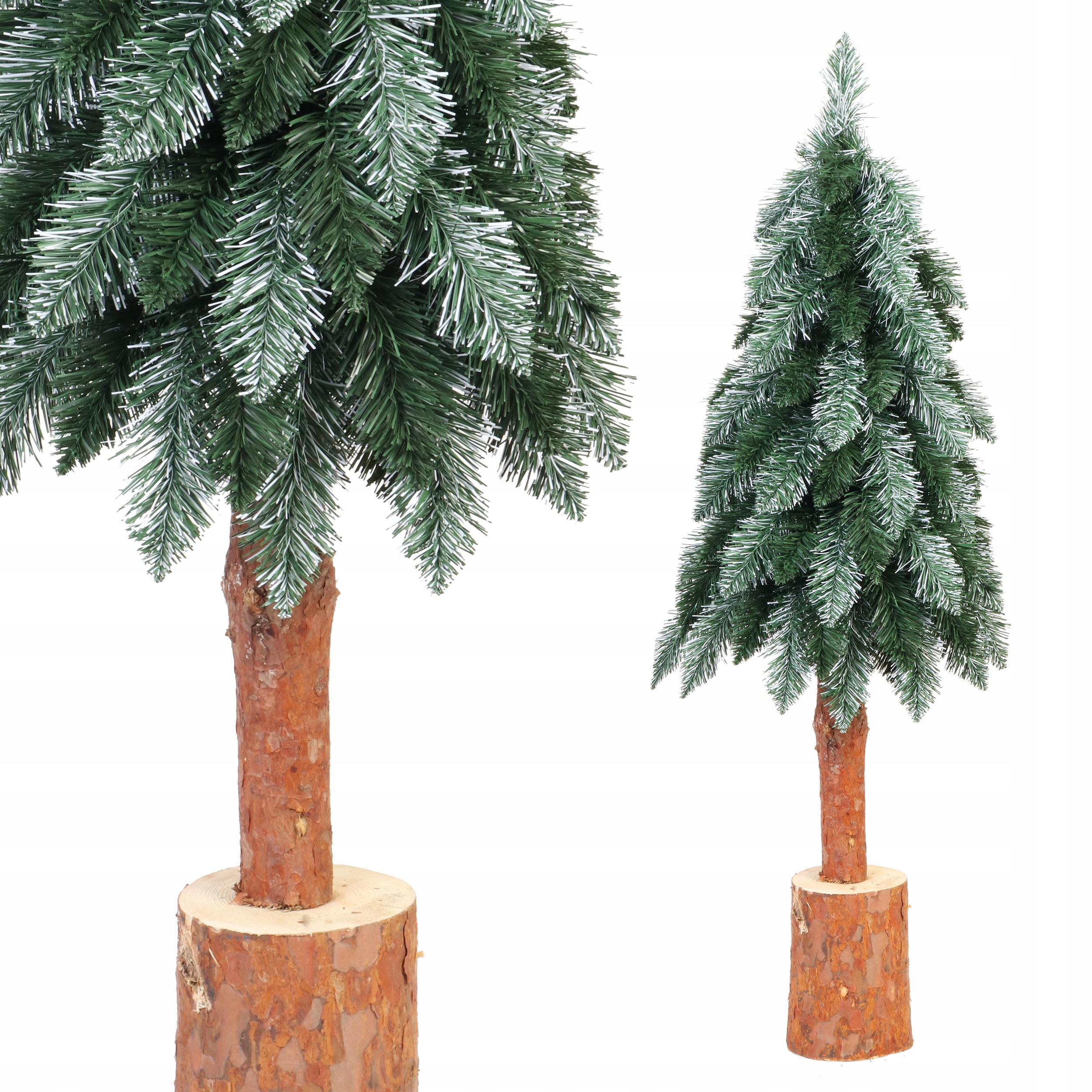 STROM umelý vianočný stromček NAŽIVO NAŽIVO na kufri 120