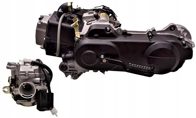 Двигатель к skutera moretti 50cm 4t barton romet, фото 0
