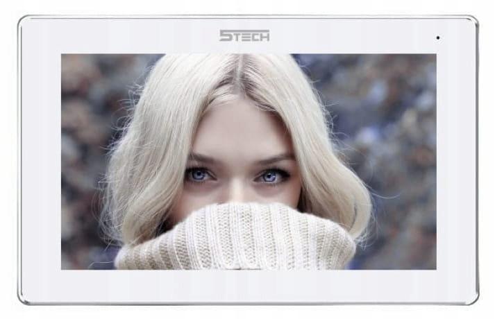 WIDEODOMOFON SKRZYNKA NA LISTY LCD 7 5tech IP Wifi Kolor biały