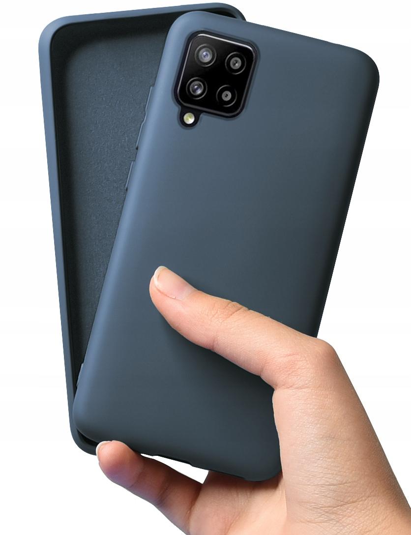 Etui do Samsung Galaxy A42 5G Case Silikon + Szkło Dedykowany model Samsung Galaxy A42 5G