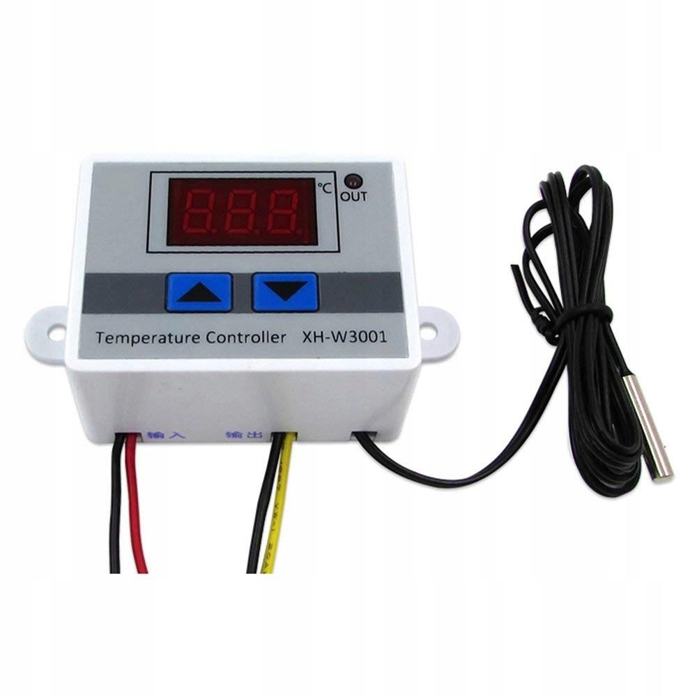 Regulator Temperatury Termostat Elektroniczny 230V
