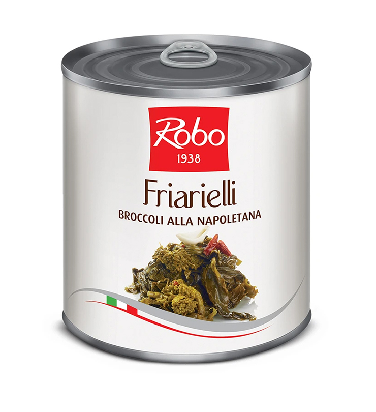Brokuły Neapolitańskie w oleju FRIARIELLI 750g