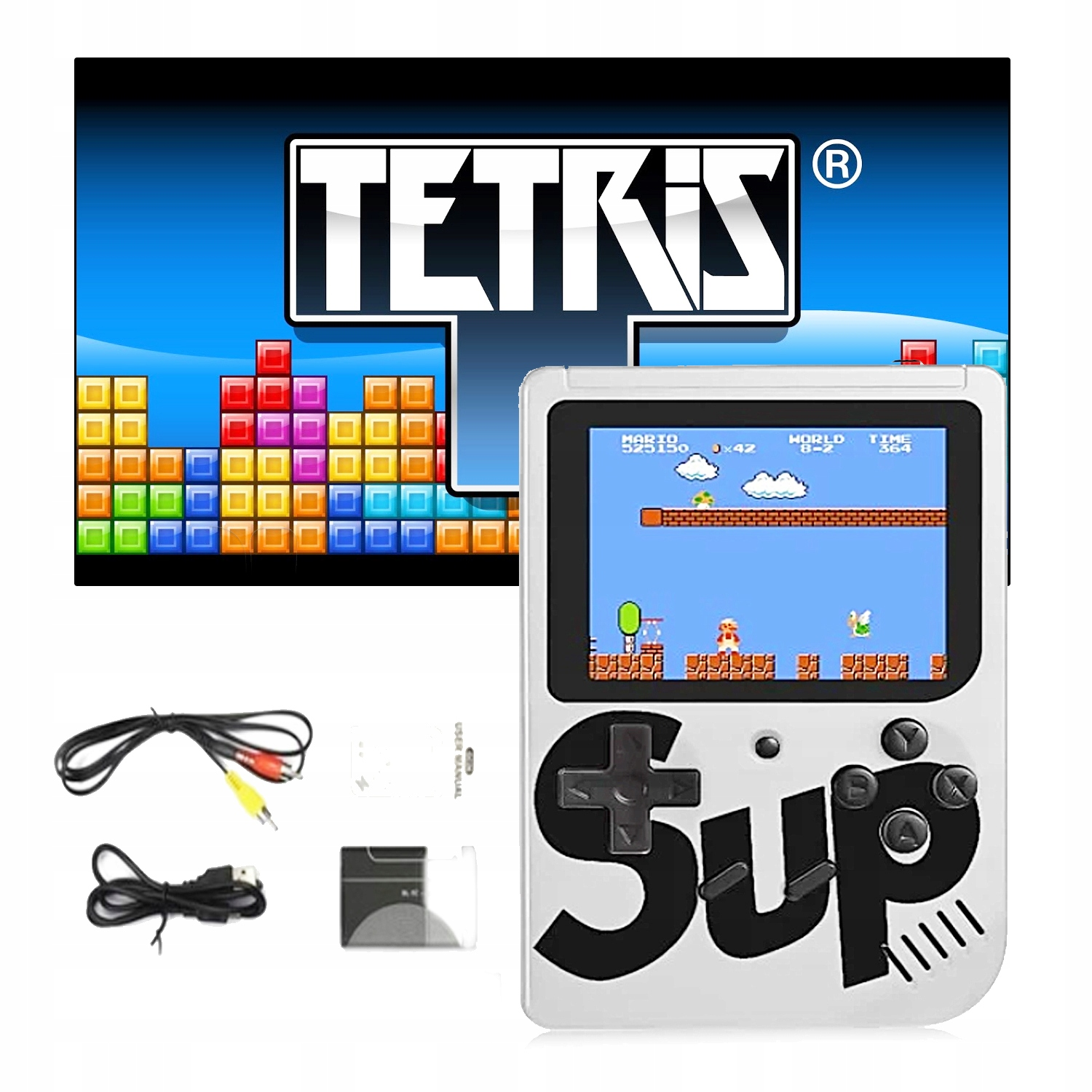 Item The electronic GAME console AV TETRIS MARIO