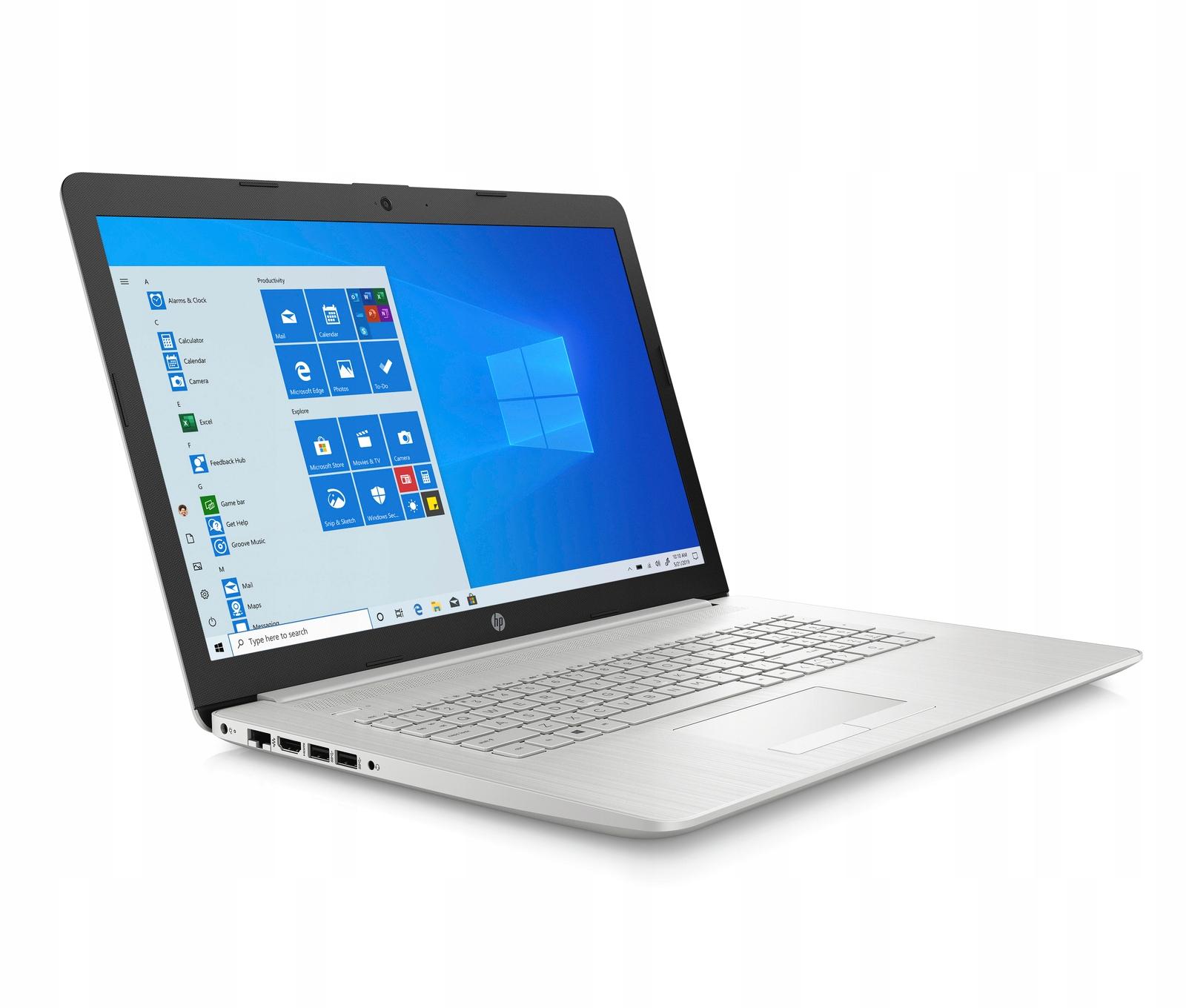 Laptop HP 17-BY i3-10/ 8GB /1TB+128SSD DVD/ Win10