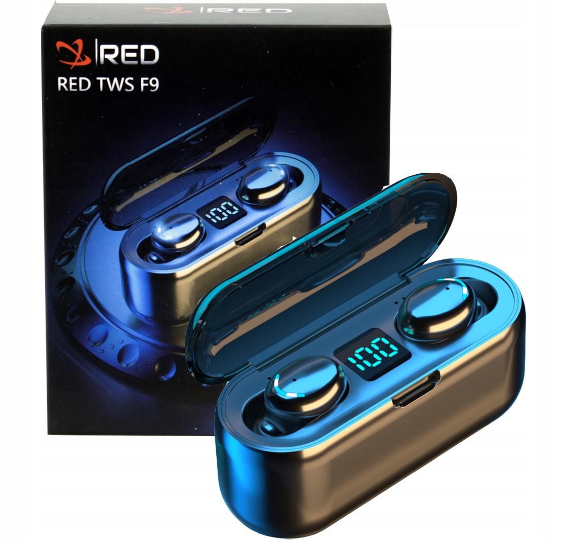 Słuchawki bezprzewodowe bluetooth 5.0 F9 T