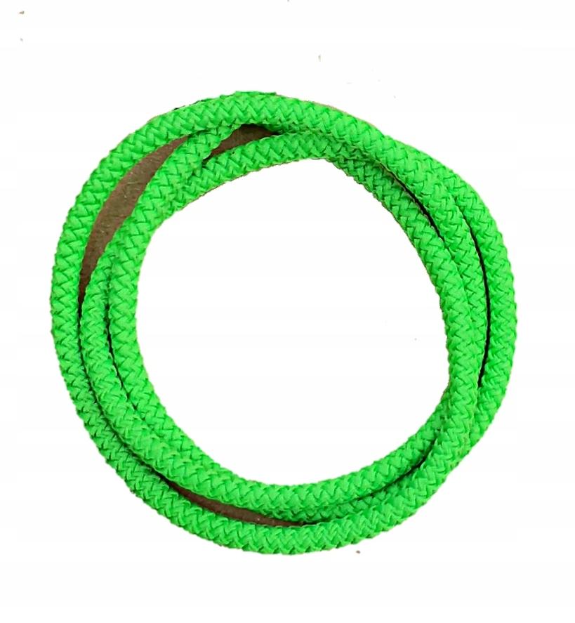 guma okrągła, gumosznurek 3mm 50m zielony