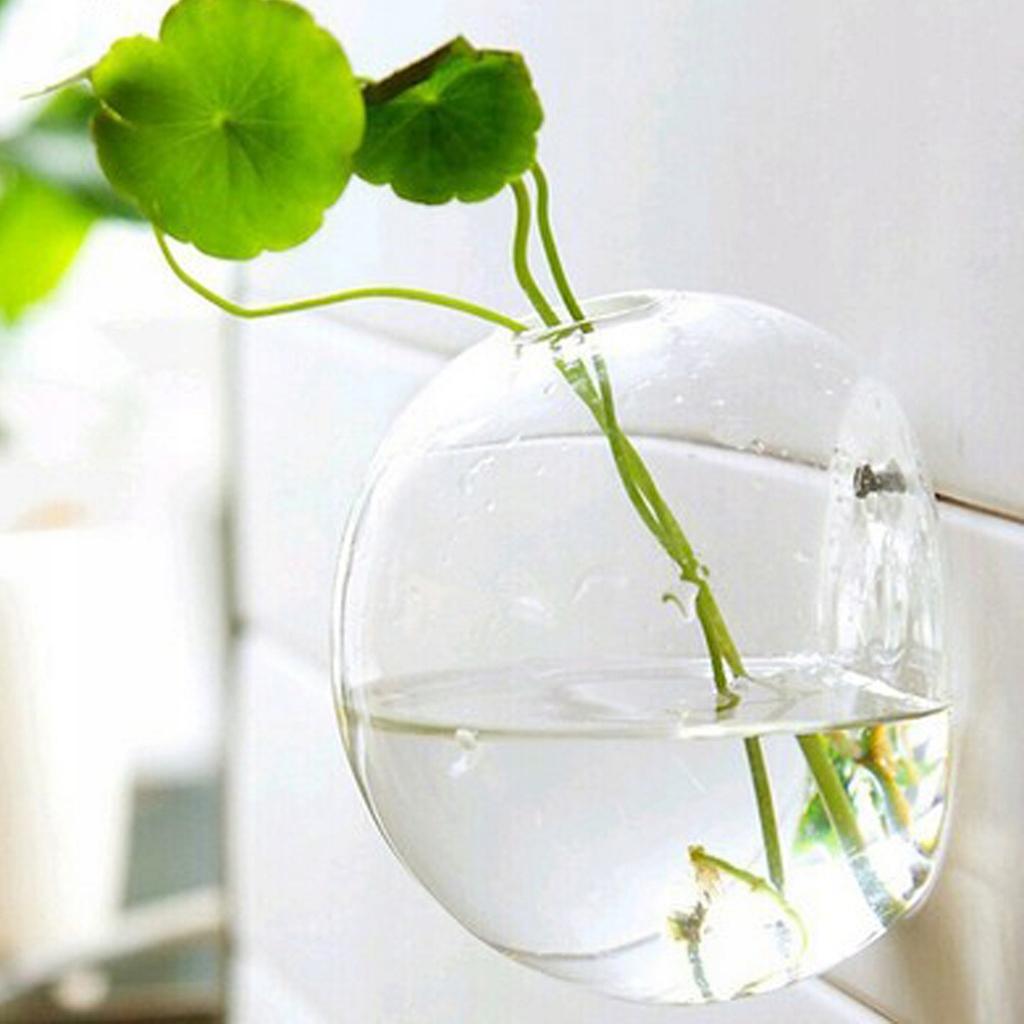 РАЗНОЕ Настенная стеклянная ваза для цветов