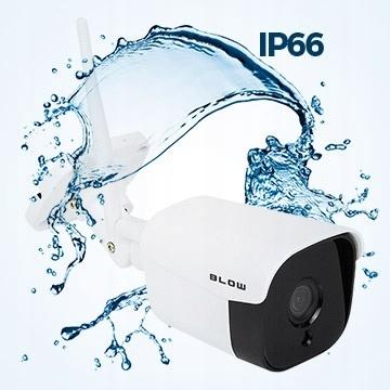 Kamera BLOW IP WiFi zewnętrzna 4Mp 36IR monitoring Rozdzielczość 4 Mpx