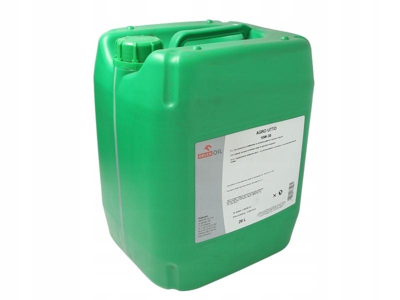 Гидравлическое масло Orlen AGRO UTTO 10W30 20л с трансмиссией