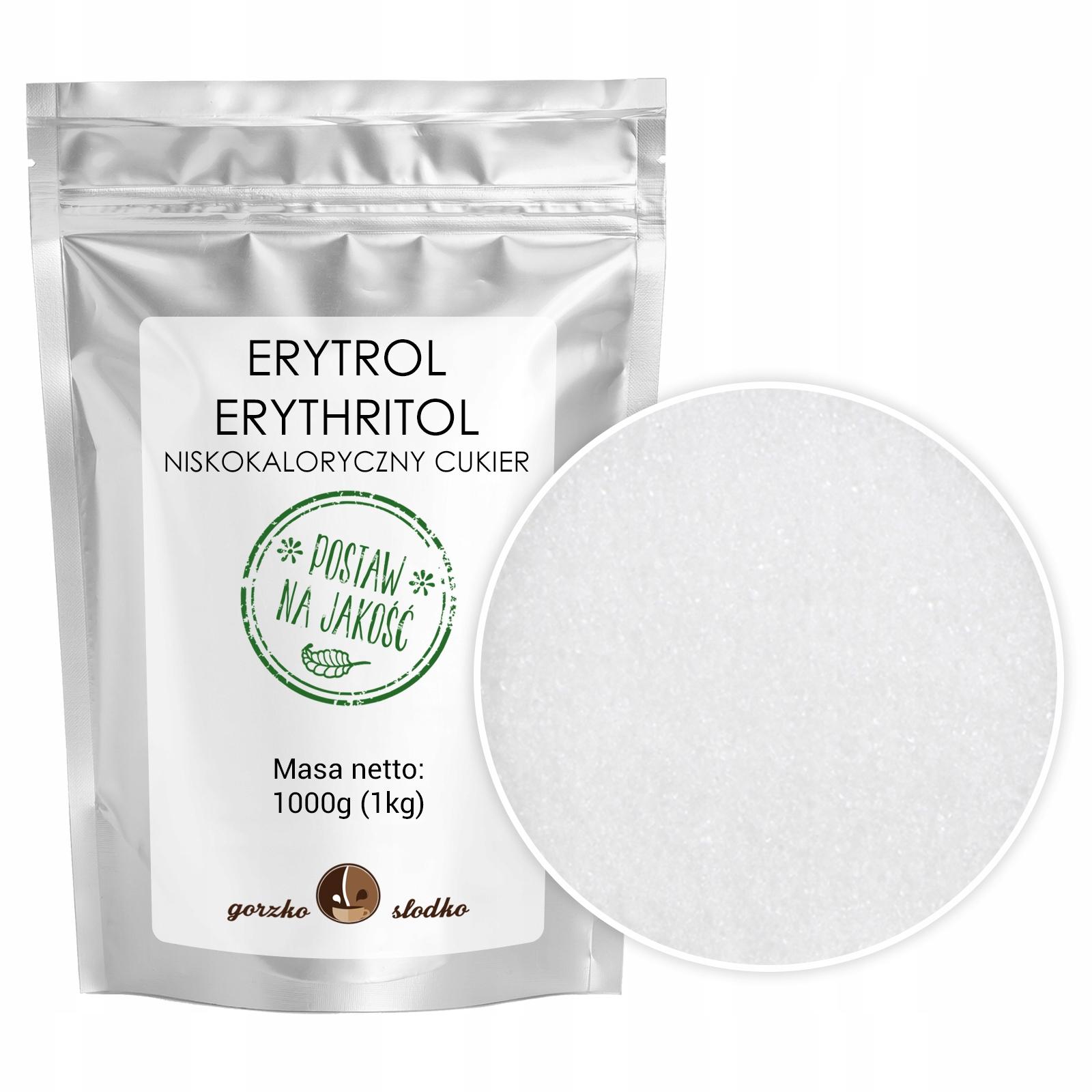 Item ERYTROL ERYTRYTOL natural sweetener 1kg