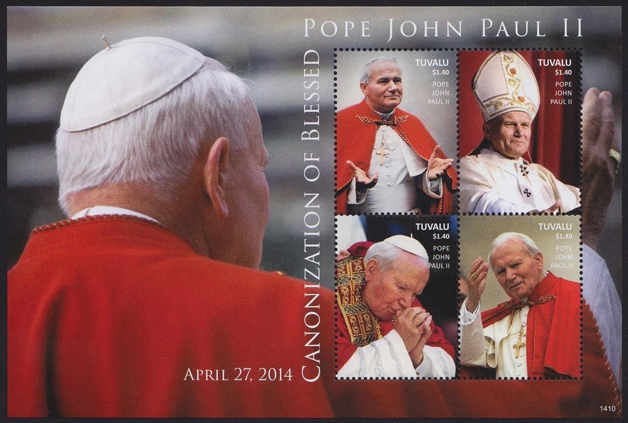 Тувалу 2014 ковчег 2029-32 ** Папа Иоанн Павел II