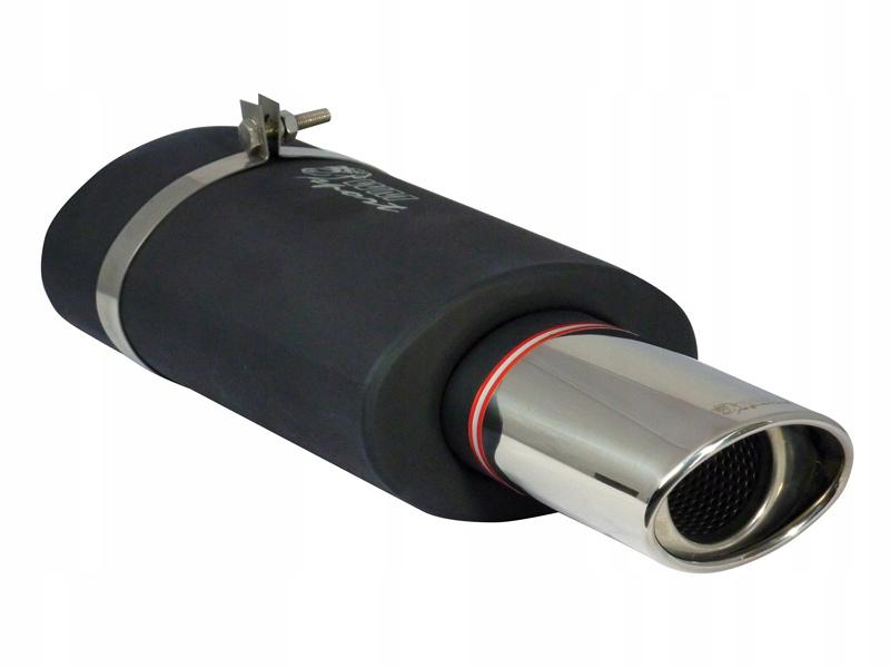 глушитель конечный спортивный wms9 117x85 овальная