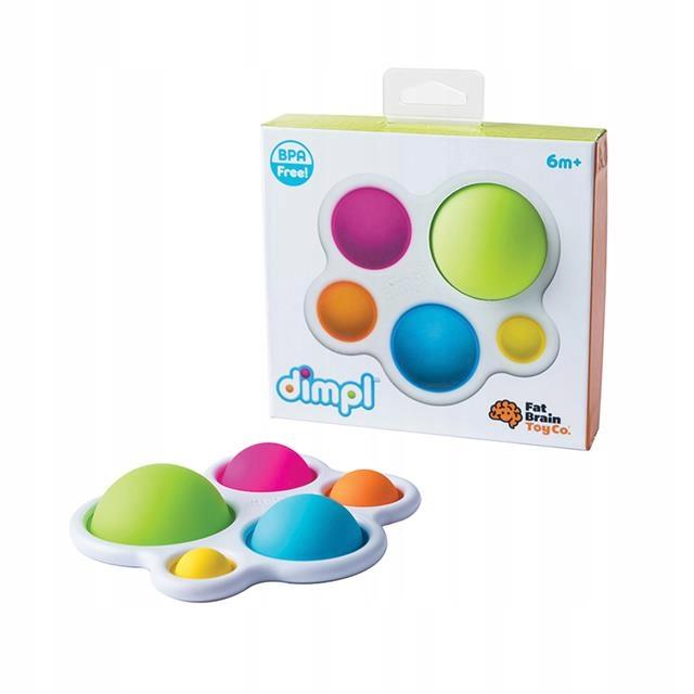 Kolorowe Bąbelki Dimpl zabawka sensoryczna POP Kod producenta FA192-1