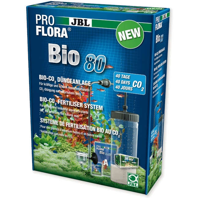 JBL PROFLORA BIO80 II CO2 НАБОР BIMBRYERY