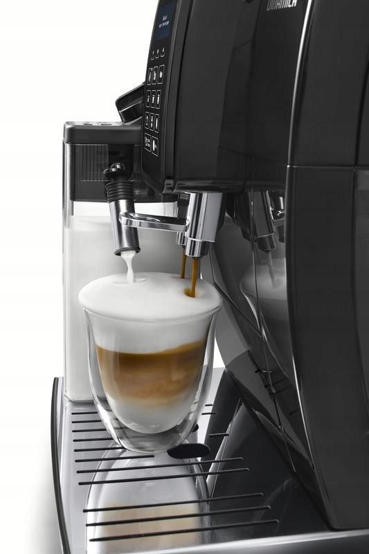 МАШИНА DELONGHI ECAM 353.75 DINAMICA BLACK Види регулювання кількості міцності кави в каві