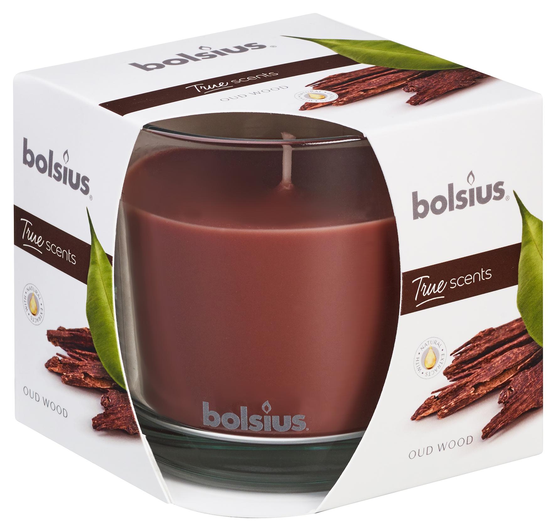 Zestaw 3 Świec w szkle na PREZENT marki BOLSIUS Marka Bolsius