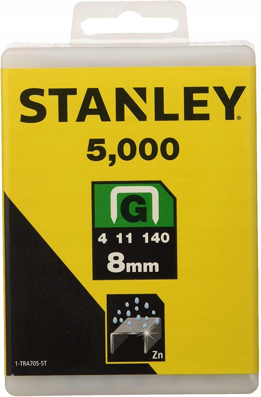 СКРЕПКА G 8мм 5000ПК STANLEY 1-TRA705T 8
