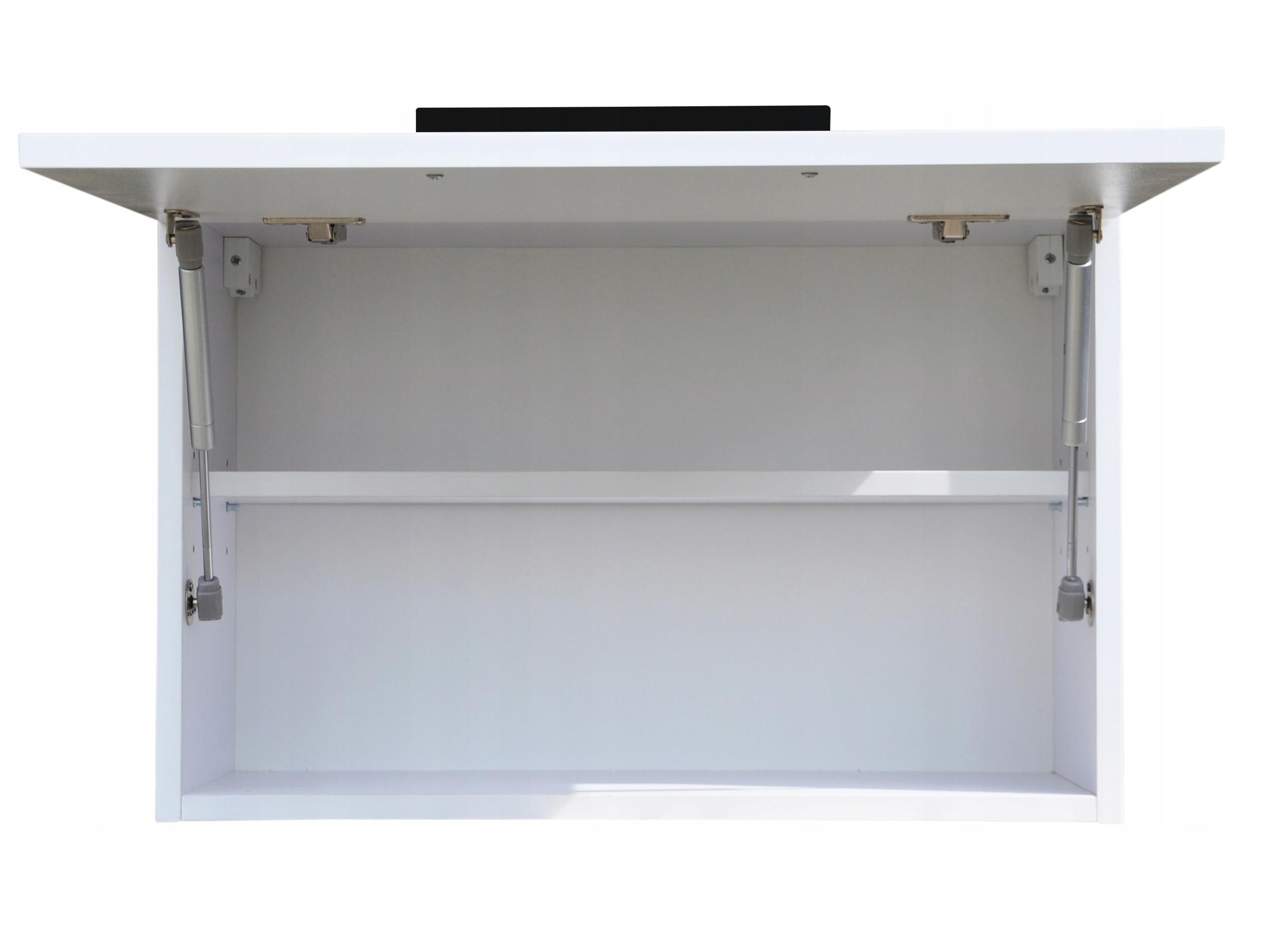 Szafka łazienkowa wisząca klapa połysk 70 Głębokość mebla 23.9 cm