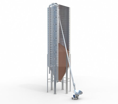 Silosy paszowe AGOS 25 ton silos PRODUCENT 72h