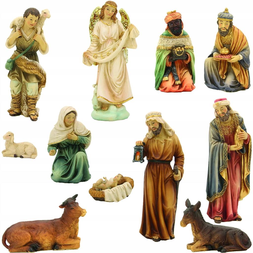 Orientálne figúrky pre betlehem - 12 kusov - vysoké 15 cm