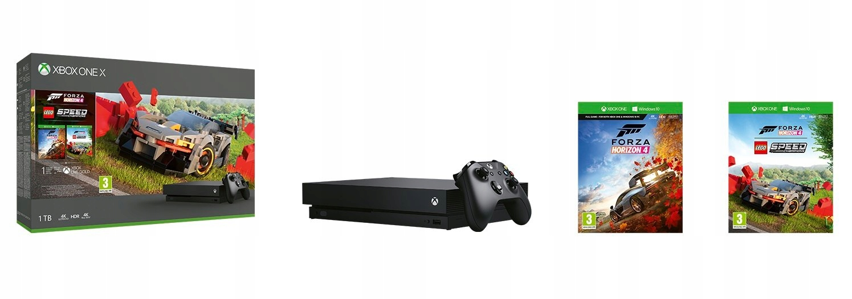 Item Console Xbox One 1TB X + 4 Forza Horizon LEGO