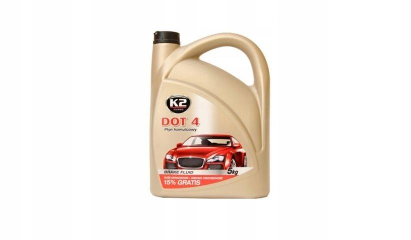 К2 тормозная жидкость DOT 4 5л