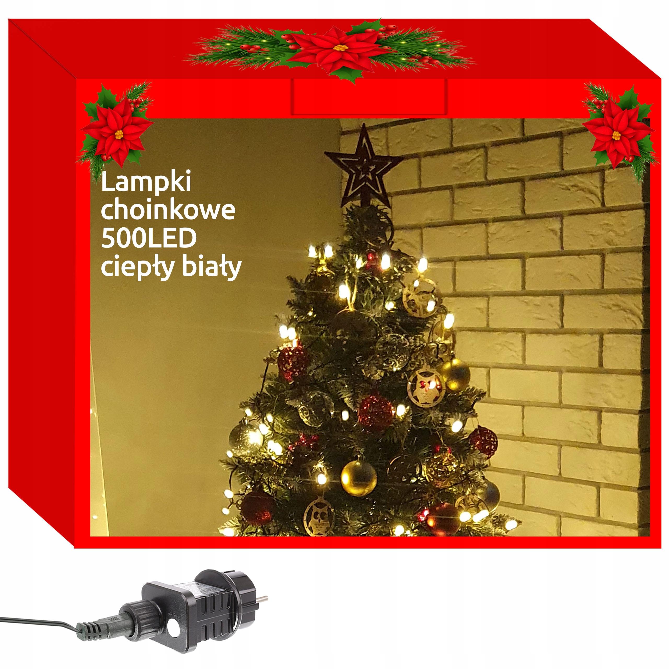 Lampki Choinkowe 500 Led Zewnetrzne 8 Trybow 31v C 9910978708 Allegro Pl