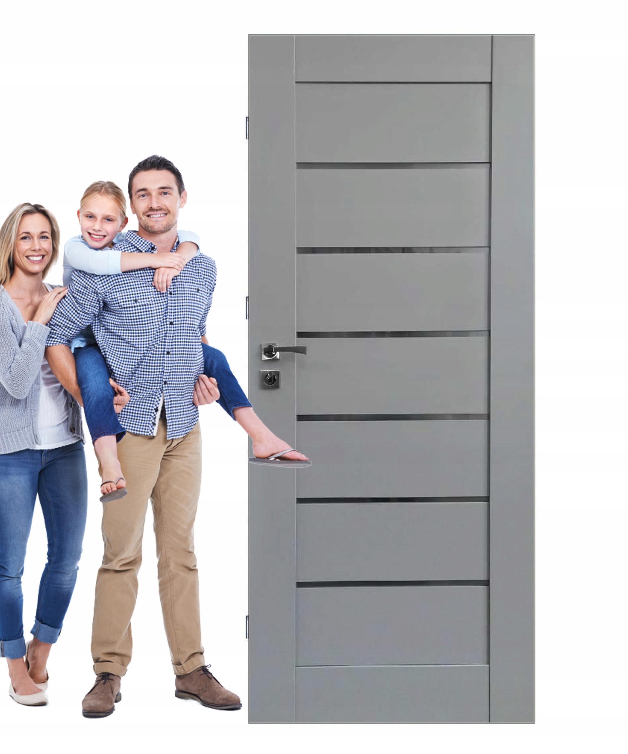 Drzwi wewnętrzne NEGRO II opcja OŚCIEŻNICA tanio