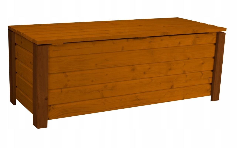 Skrzynia ogrodowa otwierana pojemnik kufer 120 cm