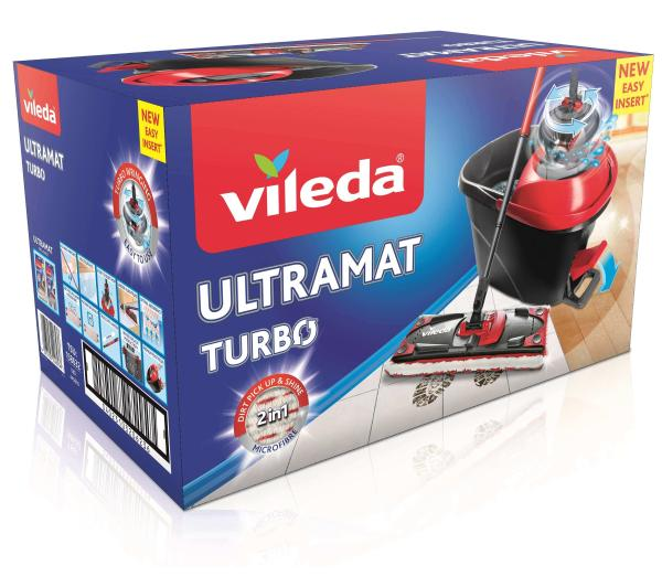 Плоский Swivel Mop VILEDA ULTRAMAT TURBO