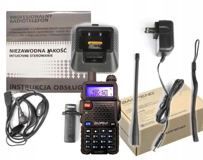 Купить Baofeng UV-5R HT 5W Radiotelefon duobander nowa v. на Otpravka - цены и фото - доставка из Польши и стран Европы в Украину.