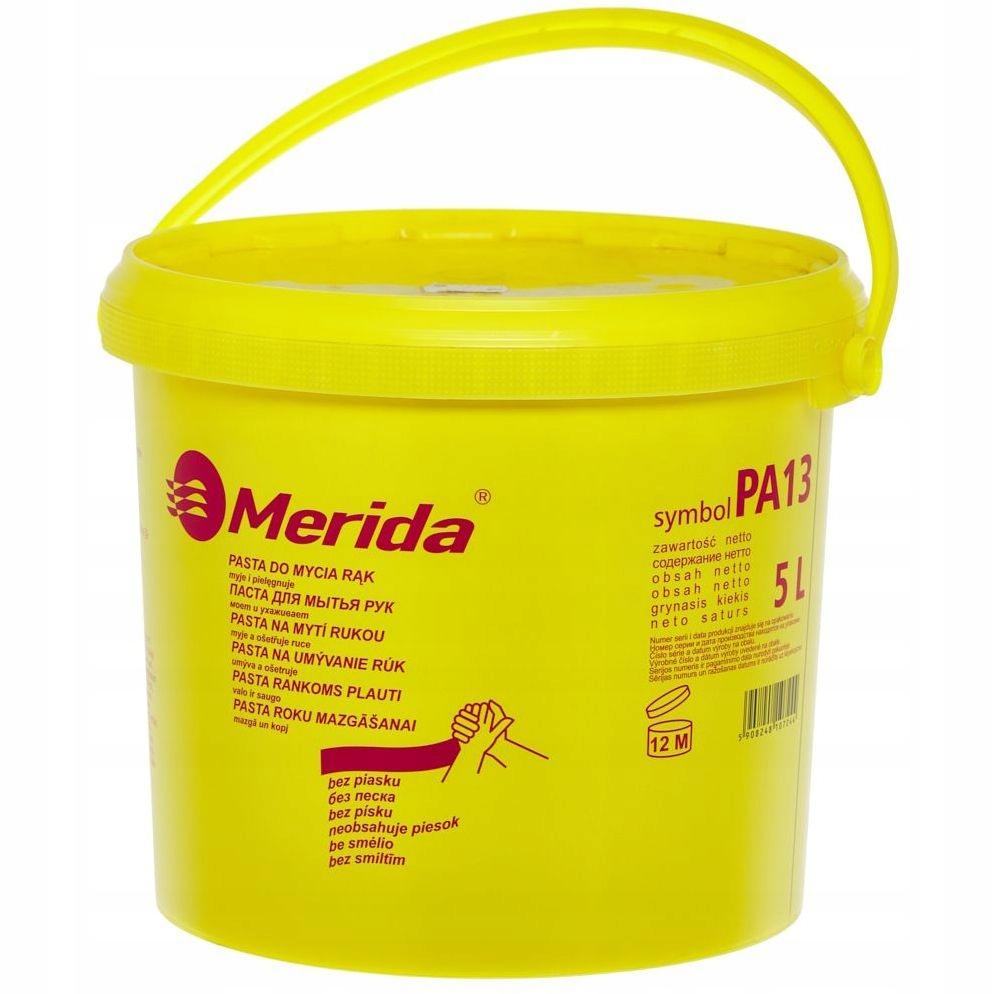 Паста для грязных рук MERIDA с 5 л абразивной муки