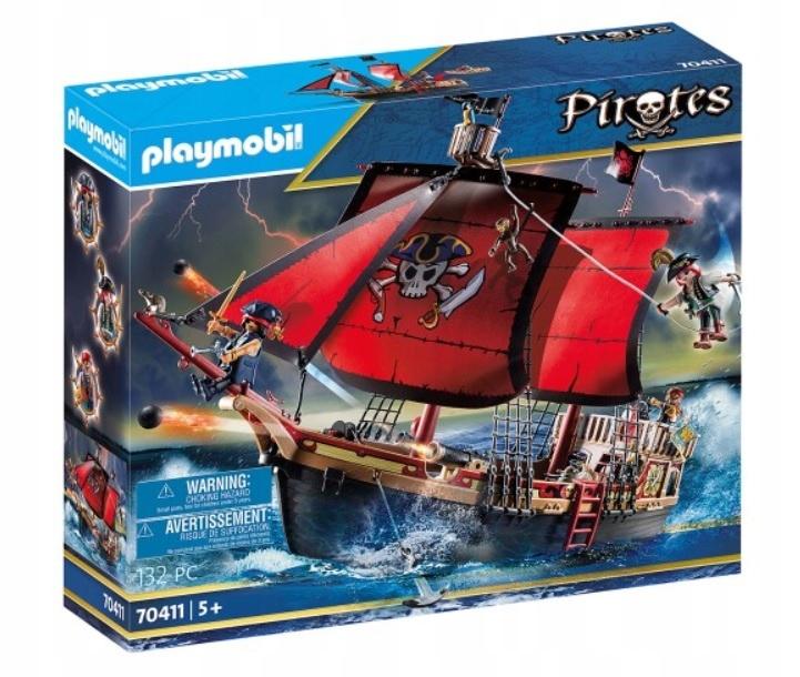 Playmobil 70411 Piráti Piráti z veľkej pirátskej lode